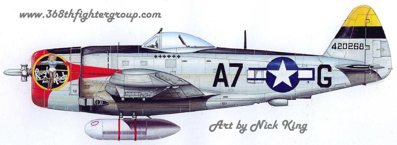 368th Fg The P 47 Thunderbolt